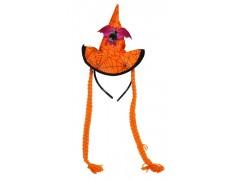 Halloween Gift kapelusz z warkoczami