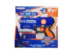 Pistolet na strzałki niebieski