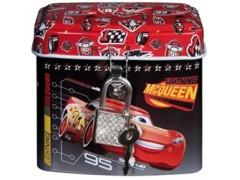 Skarbonka metalowa Cars z kluczykiem (6)