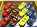 Autka cars metalowe die cast pullback 4wz.(12)
