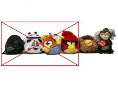 Angry Birds - Pluszak 12cm 2wz***