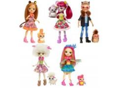 Enchantimals lalka+ zwierz.domowe(8)***