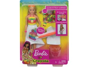 Barbie Tęczowe owoce Crayola (4)