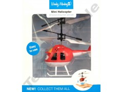 Helikopter latający Czerwony