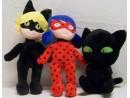 Biedronka czarny Kot plusz dźwięk