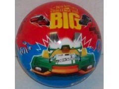 Piłka gumowa Hot Wheels Licencja
