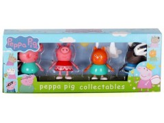 Peppa przyjaciele 4-pak BOX 2wz