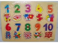 Puzzle Drewniane CYFERKI /3259/