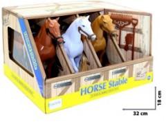 Stajnia z koniami 3-pak