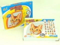 Mozaika koń/kot